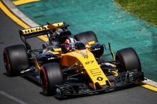 Nico Hulkenberg (GER) Renault Sport F1 Team RS17. Australian Grand Prix, Friday 24th March 2017. Albert Park, Melbourne, Australia.
