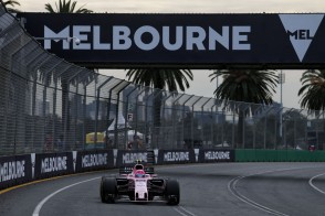 Esteban Ocon (FRA) Sahara Force India F1 VJM10. Australian Grand Prix, Friday 24th March 2017. Albert Park, Melbourne, Australia.
