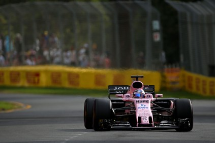 Sergio Perez (MEX) Sahara Force India F1 VJM10. Australian Grand Prix, Friday 24th March 2017. Albert Park, Melbourne, Australia.