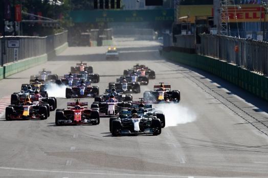 Drivers-on-track-Azerbaijan-GP-F1-2017