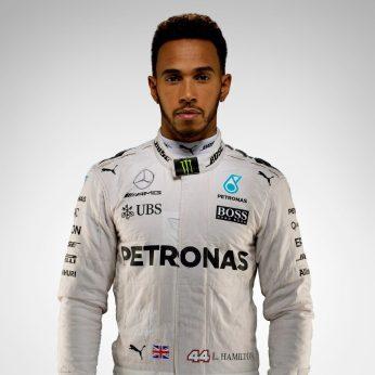 Lewis Hamilton- 44